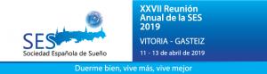 XXVII Reunión Anual de la Sociedad Española del Sueño - En Vitoria-Gasteiz - Abril 2019